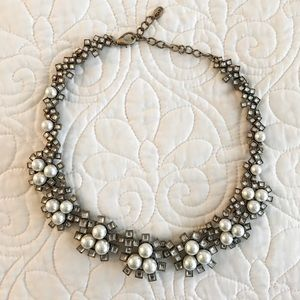 Zara Pearl Statement Necklace